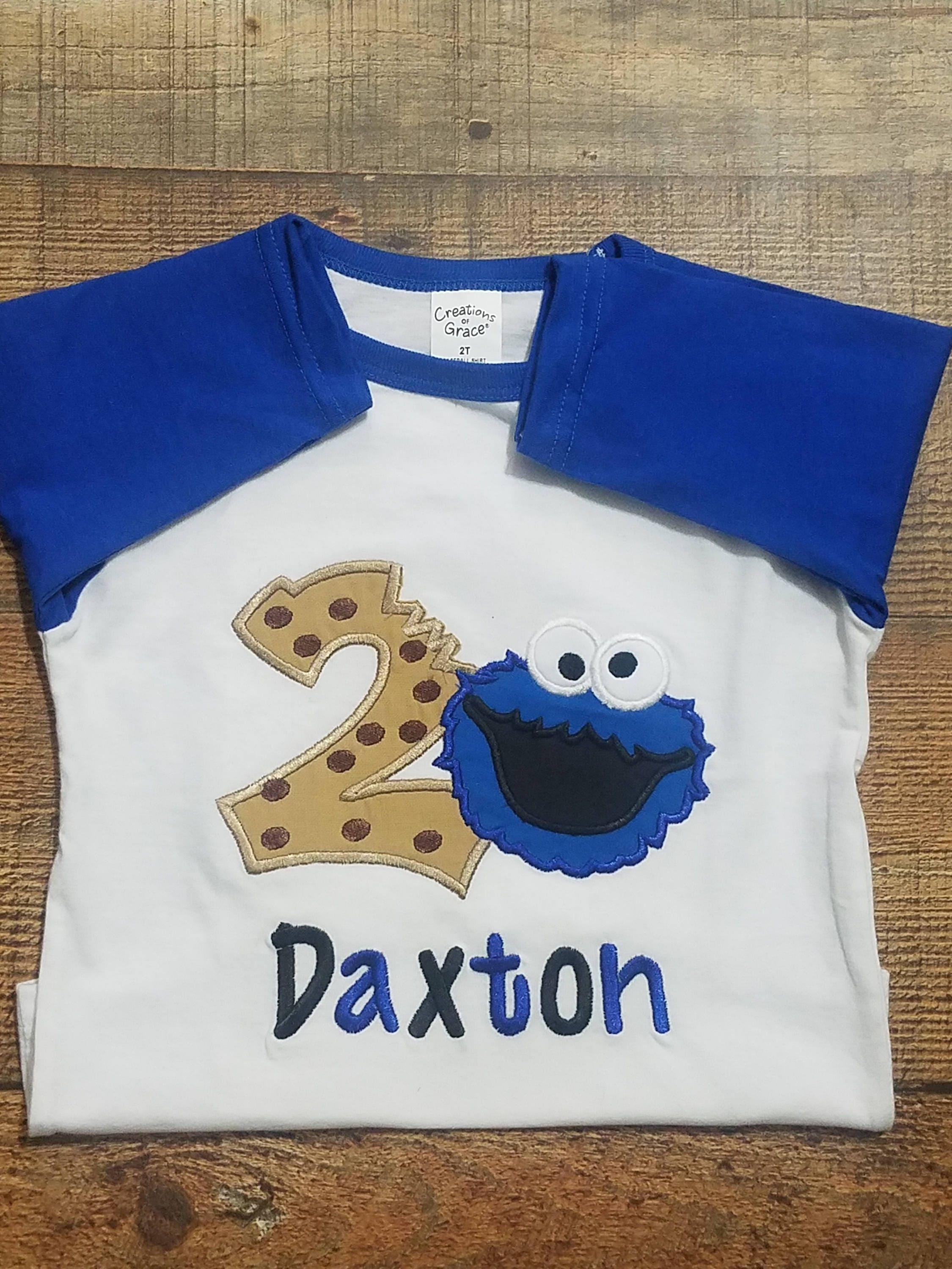 b70670da6 Cookie Monster Shirt/ Cookie Monster Birthday/ Cookie Monster | Etsy
