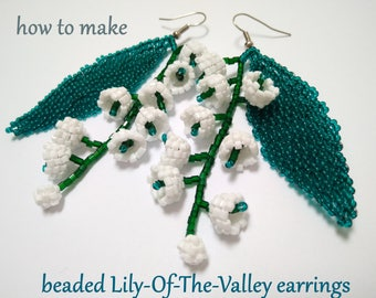 Lariat of beads: master class, weaving scheme and recommendations