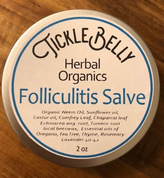 FOLLICULITIS SALVE NEEM oil, Comfrey, Chaparral leaf Healing