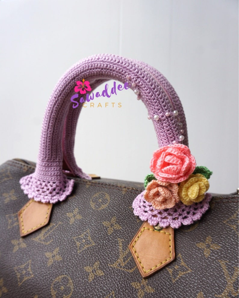 1c573ba854bd Free shipping  Beautiful Handmade Crochet Bag Handle Cover