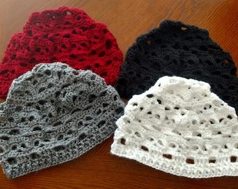Crochet skull hat  be0f1881cbd