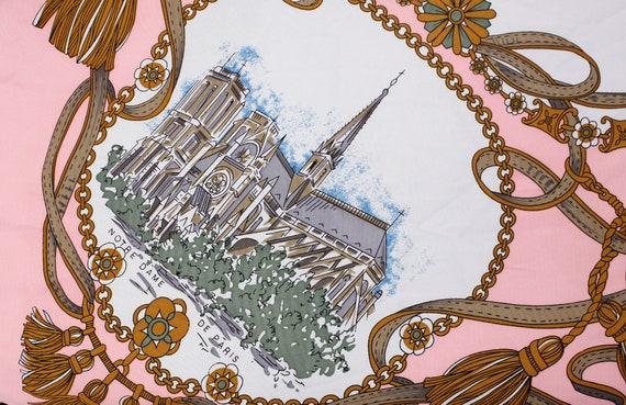Souvenir de Paris Pink Scarf, Patricia paris tour… - image 5