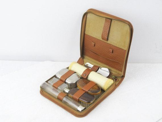 san francisco ee898 8cd04 Vintage dressing table set, Mens vanity travel set