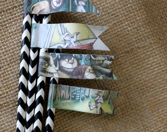 Straw Flags PDF where the wild things are