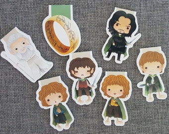 Fellowship Quest Magnetic Bookmark Set