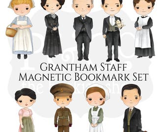 Grantham Staff Magnetic Bookmark Set
