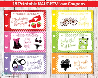 Sexy coupon ideas for him