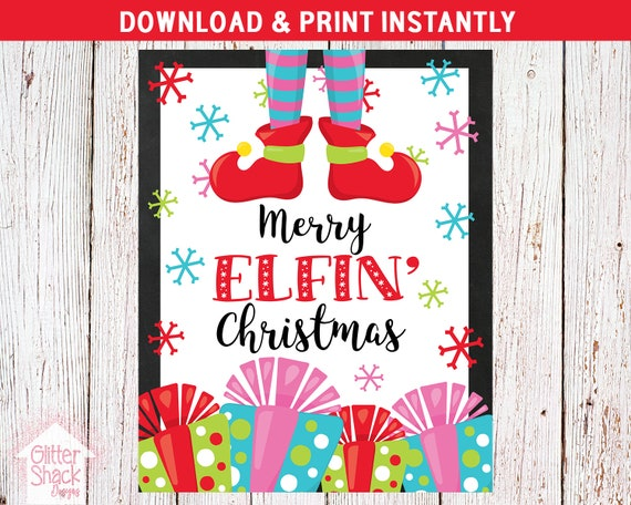 It's just a graphic of Merry Christmas Sign Printable for print
