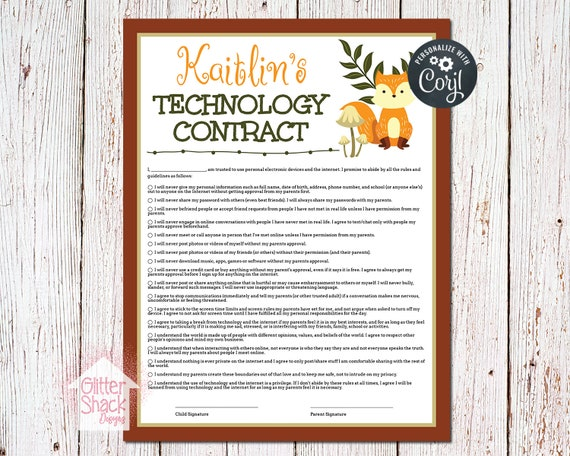 image regarding Screen Time Rules Printable called PRINTABLE Show Year Suggestions Deal, Display screen Laws, Know-how Legislation, Relatives Suggestions, Tween Printables, Know-how Deal, EDITABLE PDF Report