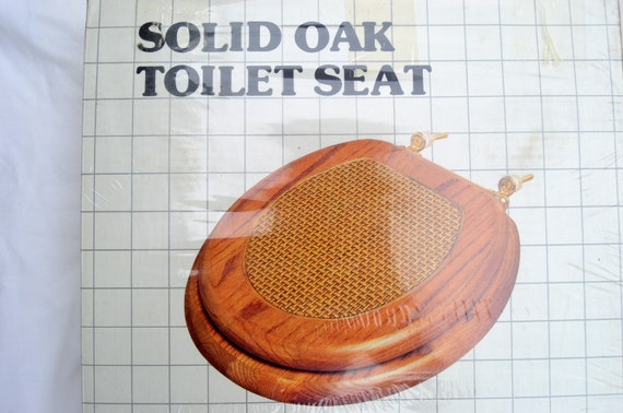 Peachy New Vintage Retro Solid Oak Wood Toilet Seat With Solid Brass Hinges Forskolin Free Trial Chair Design Images Forskolin Free Trialorg