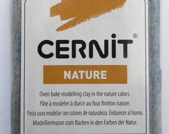6 bars 940-976 Quartz Nature's Colors Cernit modeling clay 56 grams (2 oz)