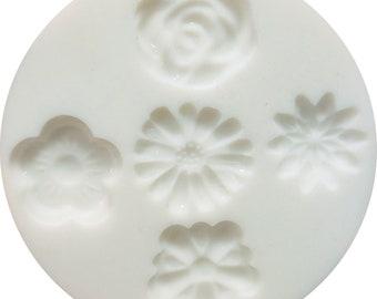 95113 Flowers Mold Cernit