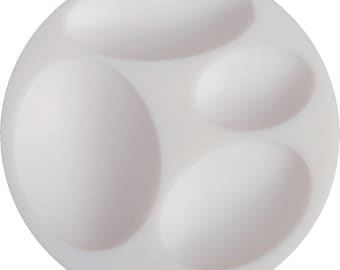 95120 Ovals Cabochons Mold Cernit