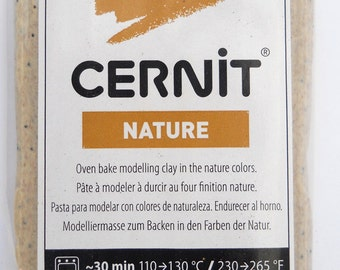 6 bars 940-971 Savanna Nature's Colors Cernit modeling clay 56 grams (2 oz)