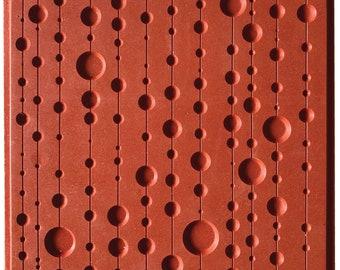 95028 Pop Curtain Texture Sheet Cernit