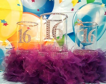 Sweet 16 Party Decorations Sweet 16 Gift Sweet 16 Party Etsy