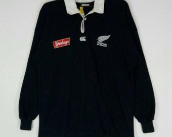 1c9f9efaf66 CANTERBURY STEINLAGER rugby shirt nice design medium size