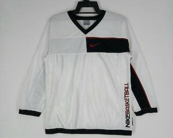 NIKE basketball jersey long sleeve shirt nice design medium size e1647a115