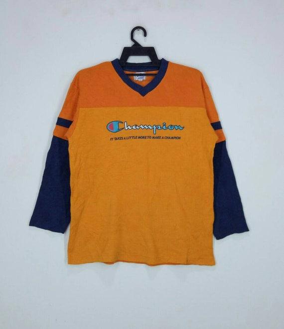 Champion Sweatshirt Rare Design Nice Design