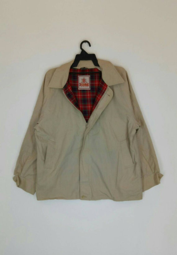 Rare!! BARACUTA jacket nice design XL size