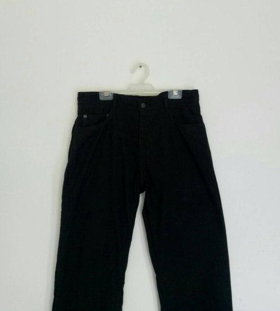 Rare!! BARACUTA pants nice design black colour
