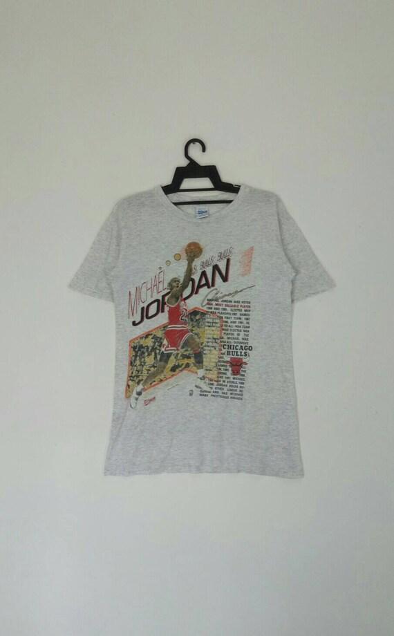 Rare!! Vintage MICHAEL JORDAN t-shirt