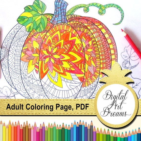 Pumpkin Coloring Pages For Adults Printable Pumpkins Pumpkin Outline Printable Pdf Halloween Coloring Book Pumpkin Shape Template Color