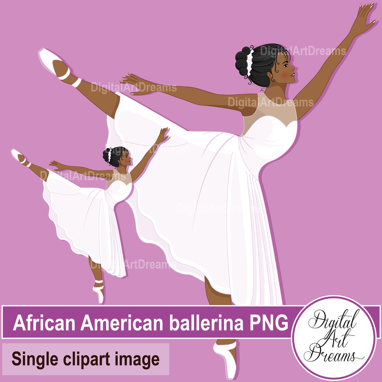 African American Ballerinaclip Art Bobbydaleearnhardt
