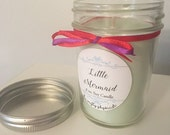 Little Mermaid 8oz Soy Candle