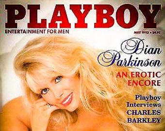 Vintage Playboy Magazine May 1993 Dian Parkinson Charles Barkley
