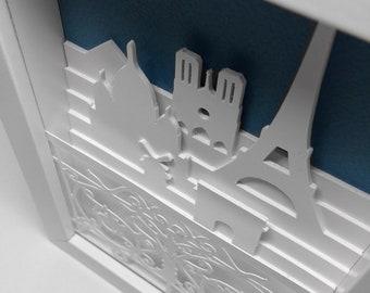Balcony   PARIS COLLECTION   Paper art