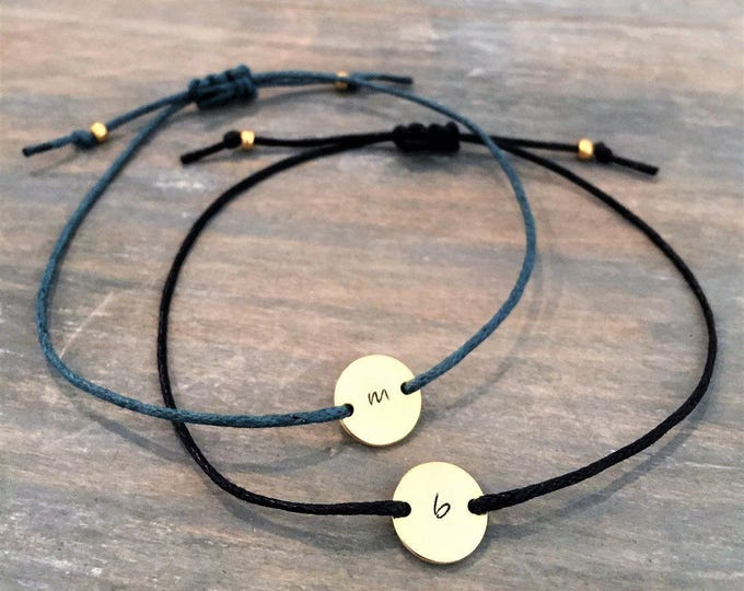 Personalized Bracelets for Women, Custom Initial Bracelet, Minimalist Bracelets for Women, Personalized Gift for Her, Gold Initial Bracelet