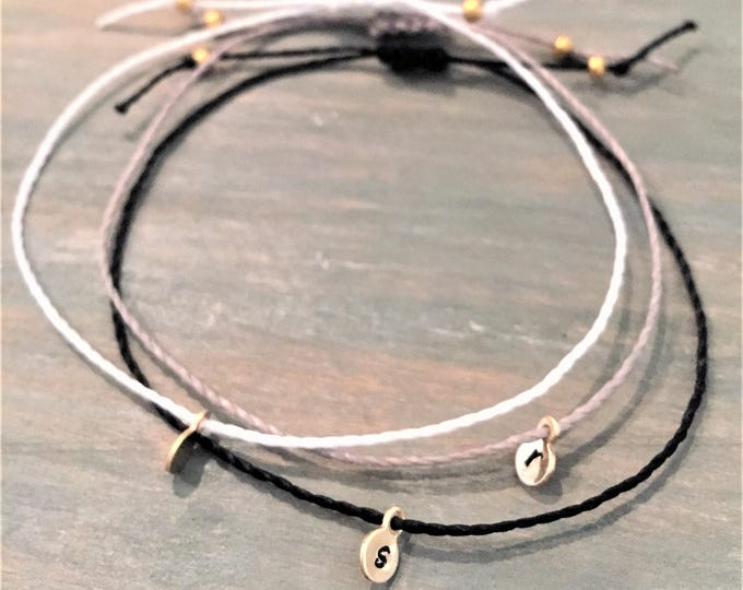Personalized Bracelets for Women, Gold Filled, Sister Bracelets, Custom Friendship Bracelets, Dainty Bracelet, Initial Bracelets for Women