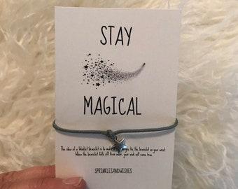 Séjour charme magique de Wishlet Bracelet, livraison gratuite