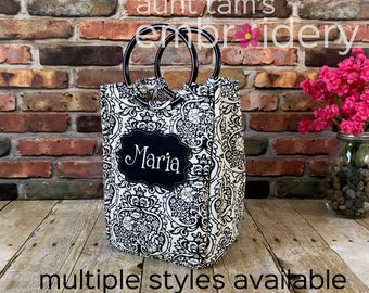 Personalized Adult Lunch Box, Lunch Box, Fit & Fresh, Lunch Bag with Name, Embroidered Lunch Cooler,  Insulated Lunch Cooler