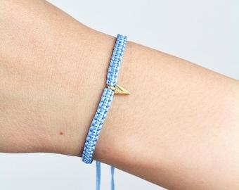 Macrame Arrowhead Gold Bracelet/Anklet - TinyLittlePiecesShop