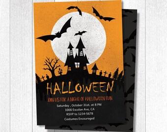 Halloween card halloween card in a box halloween invites etsy halloween invitation card halloween invites halloween party adult halloween invitation editable template halloween digital card stopboris Choice Image