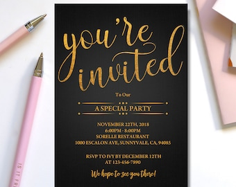 youre invited template youre invited digitalgraduation invitation editable business template special event invitation template