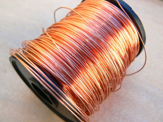 0.6mm round copper wire - 22g copper wire - bare copper wire ...