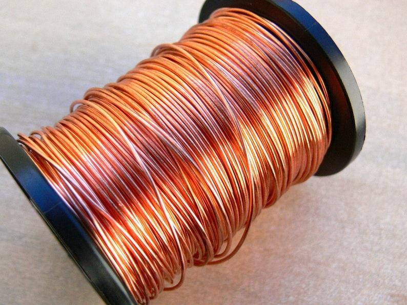 0.8mm round copper wire  20g copper wire  bare copper wire  image 0