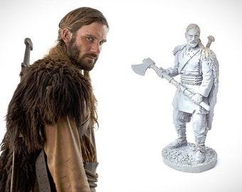 Viking Rollo figure, metal miniature