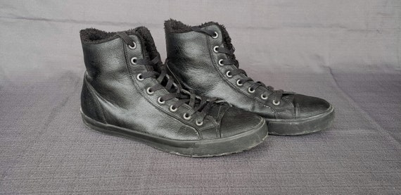 Leather Converse Style Aldo Shoes