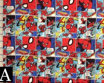 Marvel Fabric — Assorted Marvel Comics fabrics from Camelot Fabrics (5 Options)