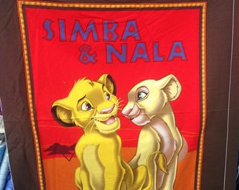 Disney Fabrics — Simba And Nala series from Springs Creative (2 Options)