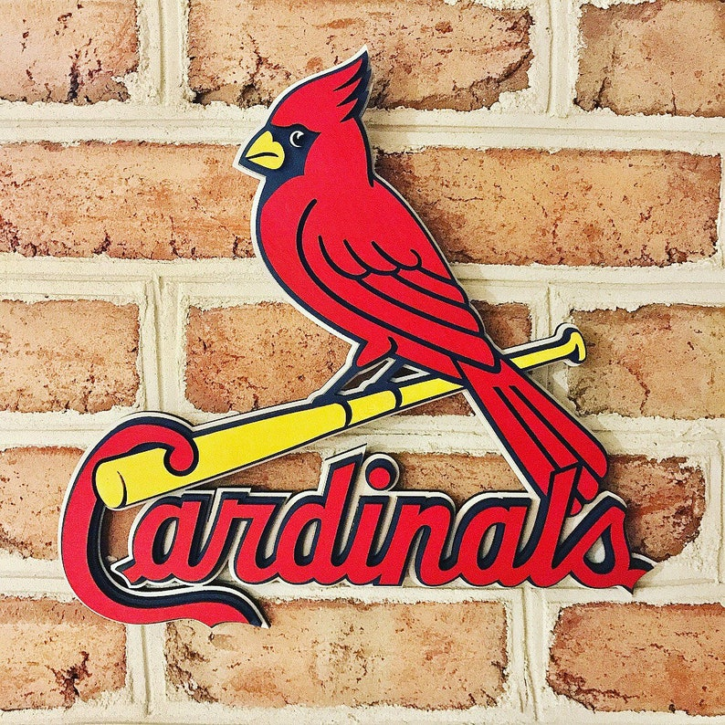 St. Louis Cardinals 3d Layered Unique Man Cave Basement