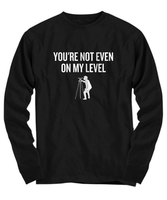Worlds Best Surveyor Black Kids Sweatshirt