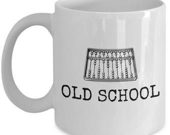 Funny Accountant Mug - Accountant Gift Idea - Accounting Present - Bookkeeper - Abacus - Old School