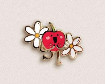 Cherry Enamel Pin - Cheerful Cherry Pin