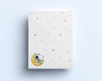 Cosmic Stranger Notepad- Spacing Out