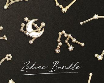 Constellation 2 Pin Bundle GOLD (Mix & Match Any 2 Pins)